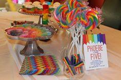rainbow birthday | { Happy Habitat }