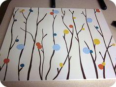 Acrylic Paint Wall Art