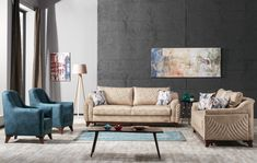 Canapea Extensibila 3 locuri Amber Beige K1 #homedecor #inspiration #homedesign #sofa #livingroom #livingroomdecor Sofas, Couch, Living Room Decor, Love Seat, House Design, Inspiration, Furniture, Amber, Home Decor