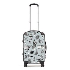 Gillian Kyle has designed some fabulous very light weight suitcases. Recognise yours in a flash at any carousel. Stand out from the crowd and celebrate your Scottish-ness, wherever you are in the world! Our suitcases are made to order and will be shipped to you in around a week.