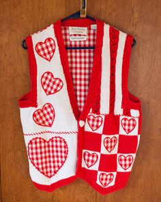 Tons of Love Hearts Sweater Vest