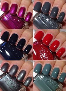 fall 2013 nail polish colors | ESSIE FOR THE TWILL OF IT FALL 2013 COLLECTION 6 Full Sz Polishes New!