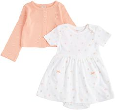 Carter's Baby Girls' 2 Piece Dress Set (Baby) - Mint - Newborn