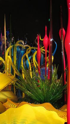 IMG_1778 by Diane Silveria, via Flickr  Chihuly Garden & Glass  Seattle