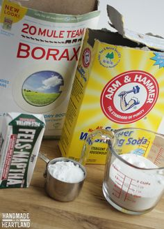 Make your own liquid laundry detergent and you'll never go back to store bought again! Its cheap, easy and works!