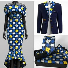Look at this Cool african fashion outfits African Fashion Designers, African Fashion Ankara, African Inspired Fashion, African Print Fashion, Africa Fashion, African Dresses For Women, African Attire, African Wear, African Style