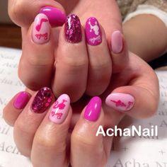 ピンクバービー ♡ http://ameblo.jp/acha-nail/=====ファッションタイプ:ガーリーポイントアイテム:アクセサリー・時計▼着用アイテム プードル ピンク バービー ネイル …