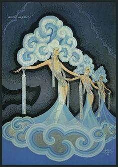 Alec Shanks, Folies Bergère,1932