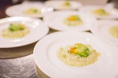 A taste of #Berlucchimood. Food and wine pairing: zucchini flowers risotto and Berlucchi 61 Satén, Berlucchi Winery, Franciacorta, Italy www.berlucchi.com