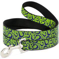 Yellow Dog Design Licorice Polka Dot Dog Leash 3//8 Wide and 5 X-Large 60 Long