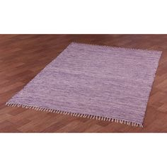 Purple Reversible Chenille Flat Weave Area Rug (3' x 5') - Overstock™ Shopping - Great Deals on 3x5 - 4x6 Rugs