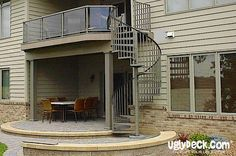 Best Outdoor Spiral Staircases On Pinterest Spiral Staircases 640 x 480