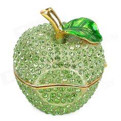maçã verde cristal
