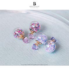 Bonny & Read 平價飾品 - 繽紛跳跳糖耳環 / 2色