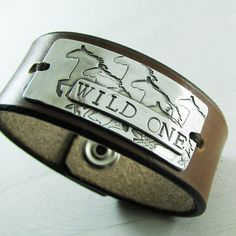 Silver Horse Jewelry Handstamped Fine Silver Horse by SilverWishes, $88.00