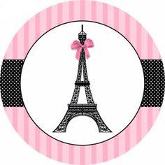 New cupcakes baby shower theme candy bars 60 ideas Paris Party Decorations, Paris Sweet 16, Paris Bridal Shower, Bridal Showers, Paris Birthday Parties, Candy Bar Labels, Pink Paris, Image 3d, Barbie Birthday