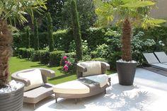 Jardin aux lignes simples au coeur Paris, par le paysagiste Xavier de Chirac