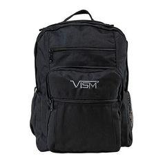 Vism Nylon Day Backpack, Black