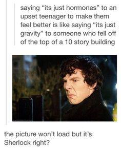 It's Sherlock, right?
