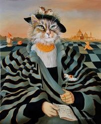 Animal society by Sylvia Karle Marquet - Beauty will save Jellicle Cats, Animal Dress Up, Image Chat, Animal Society, Cat Boarding, Pretty Cats, Pretty Kitty, Pet Clothes, Cat Life