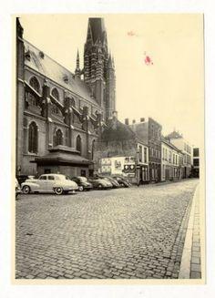 Houtmarkt 1953. Maria Hemelvaartkerk