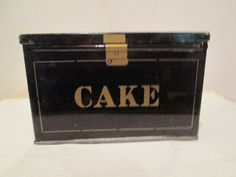 icollect247.com Online Vintage Antiques and Collectables - FAMOUS CAKE BOX MIXTURE TIN Advertising-Tobacco