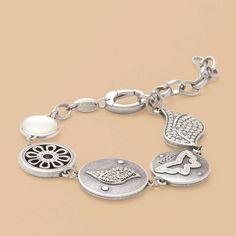 FOSSIL® Jewellery Bracelets:Women Stainless Steel Bracelet JF87820 £59