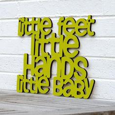 Little Feet Little Hands Little Baby Dave Matthews by spunkyfluff, $42.00