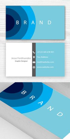 Modern Business Card Template #branding #businesscardtemplates #businesscards #visitingcard