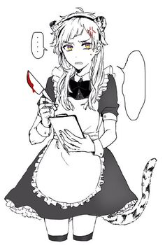 my smol baby. Stray Dogs Anime, Bongou Stray Dogs, Haikyuu Genderbend, Anime Maid, Detective, Anime Angel, Beautiful Anime Girl, Cute Anime Boy, Anime Chibi