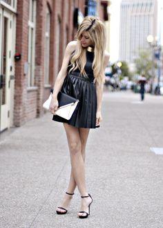 Shop this look on Kaleidoscope (necklace, dress, clutch, heels)  http://kalei.do/VxV4ocDvJnCHQ6VU