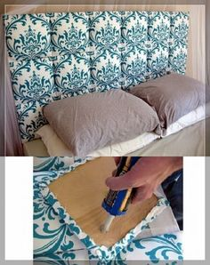 DIY Creative Headboard Ideas-27 - Snappy Pixels