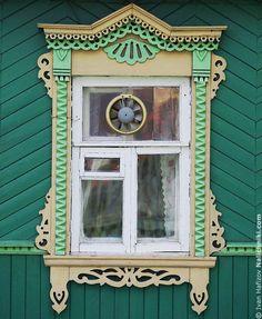 Резной наличник с вентилятором   Nalichniki.com