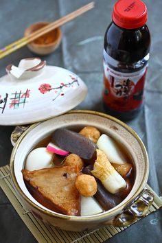 Oden (Japanese winter dish)