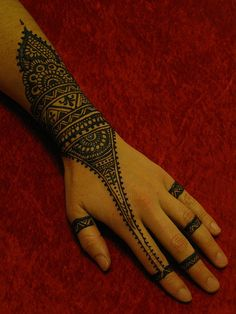 IMG_2722 by henna.elements, via Flickr #BridalHenna