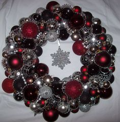 Christmas wreath - make one for you and a friend.