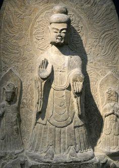 Votive stele with Buddha Shakyamuni (China, Eastern Wei dynasty, dated 542, Museum Rietberg, Zurich) 2 © Barbara-Paraprem, 2014 GALLERY IIII – Buddha | SHAMBALA