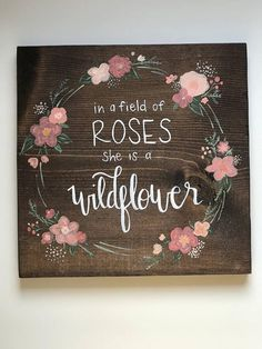 Here are some baby girl nursery design inspirations of each of your decor, bedding, and furnishings Baby Nursery Room Decor Wood Crafts, Diy And Crafts, Design Blog, Big Girl Rooms, Baby Love, My Baby Girl, Baby Girls, My New Room, Wooden Signs