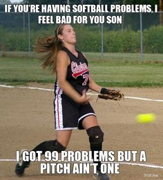Yeah if you look and throw like this....no one will have pitch problems ;)