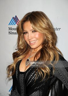 Thalia attends 5th Annual Dubin Breast Center at Mount Sinai Benefit at Mandarin Oriental Hotel on December 7, 2015 in New York City.