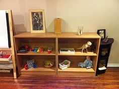 Blending an infant and toddler Montessori environment~good ideas for a mixed age group classroom too.
