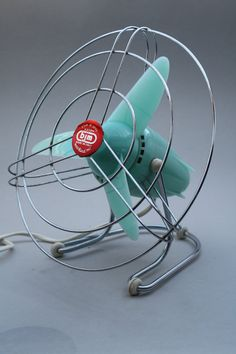 Vintage Fan made by BJM in Italy in the 1960's. €80.00, via Etsy.