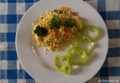 Tarhoňa so zeleninou 20 Min, Risotto, Grains, Rice, Ethnic Recipes, Food, Essen, Meals, Seeds
