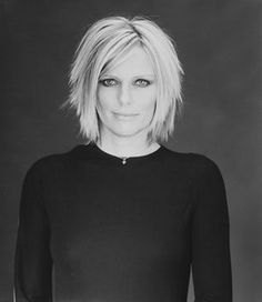 Patti Hansen, model, now 57. Married to Keith Richards for 30 years. Has 2 model daughters.