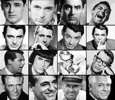 Many faces of Carey Grant