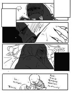 Undertale ~ Sans x Frisk Sans X Frisk Comic, Sans Frisk, Undertale Love, Undertale Ships, Undertale Comic, Anime Couples, Cute Couples, Otp, Undertale Pictures