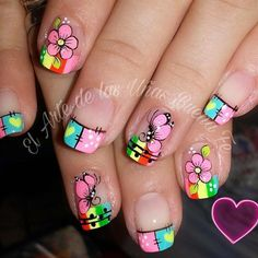 Butterfly Nail Designs, Cute Nail Designs, Spring Nails, Summer Nails, Luv Nails, Nails 2017, Pretty Nail Art, Dream Nails, Manicure And Pedicure