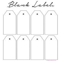Free Printable Organizing Labels For All Your Stuff - In My Own Style