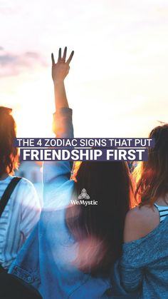 Zodiac signs are not all the same when it comes to human relationships, especially friendship. Some of them befriend with bewildering ease, while for others, just striking up a conversation with a new person takes superhuman effort. Find out the 4 Zodiac signs who put friendship first. Zodiac Quotes, Zodiac Signs, Spiritual Bath, Astrology And Horoscopes, Spiritual Connection, Self Empowerment, The 4, Cleanses, Friendship Quotes