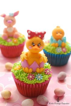 My Cutie Easter Chick!!! by Little Cottage Cupcakes, via Flickr
